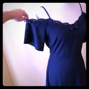 Dresses & Skirts - Beautiful blue off shoulder dress